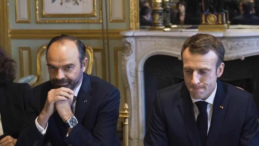 Macron célèbre Noël avec les militaires — Tchad