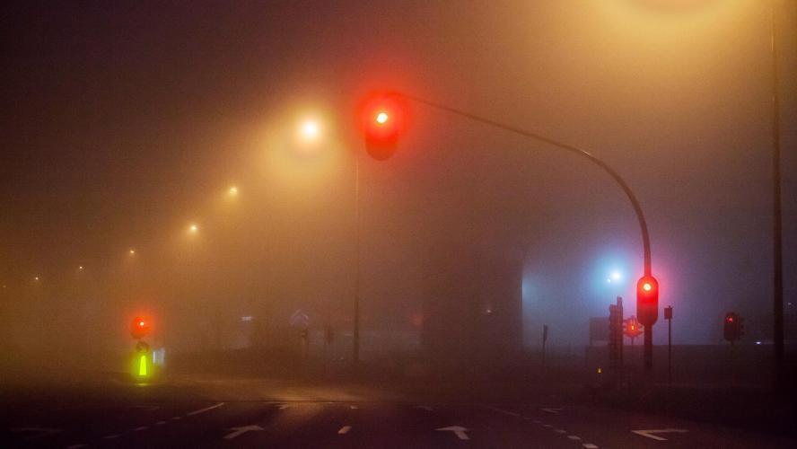 L'ensemble du pays placé en alerte jaune jusqu'à demain matin: attention sur les routes, le brouillard pourra limiter la visibilité à moins de 500m!