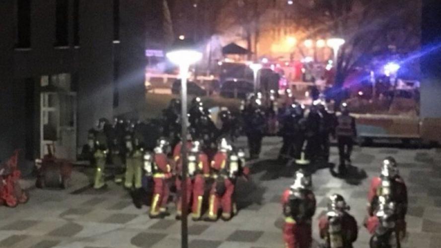 Un incendie d'appartement fait deux blessés graves — Saint-Denis