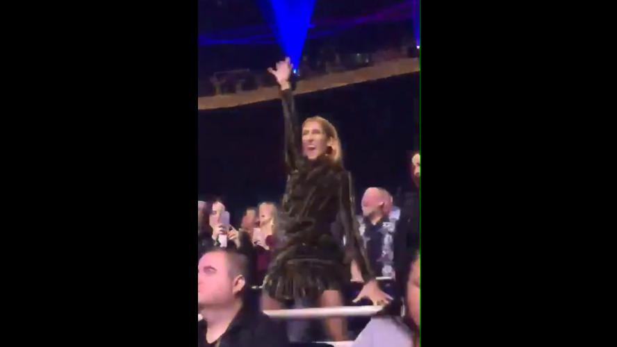 Céline Dion s'est vraiment éclatée au concert de Lady Gaga à Vegas