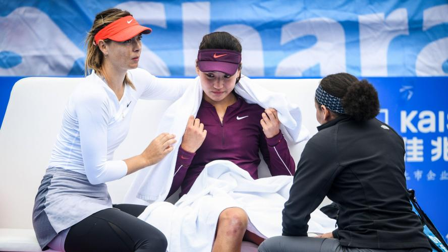 Shenzhen : Sabalenka domine Wang, Zvonareva abandonne - Fil Info - WTA - Tennis