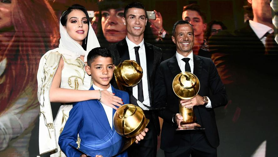 Deschamps et Cristiano Ronaldo récompensés — Globe Soccer Awards