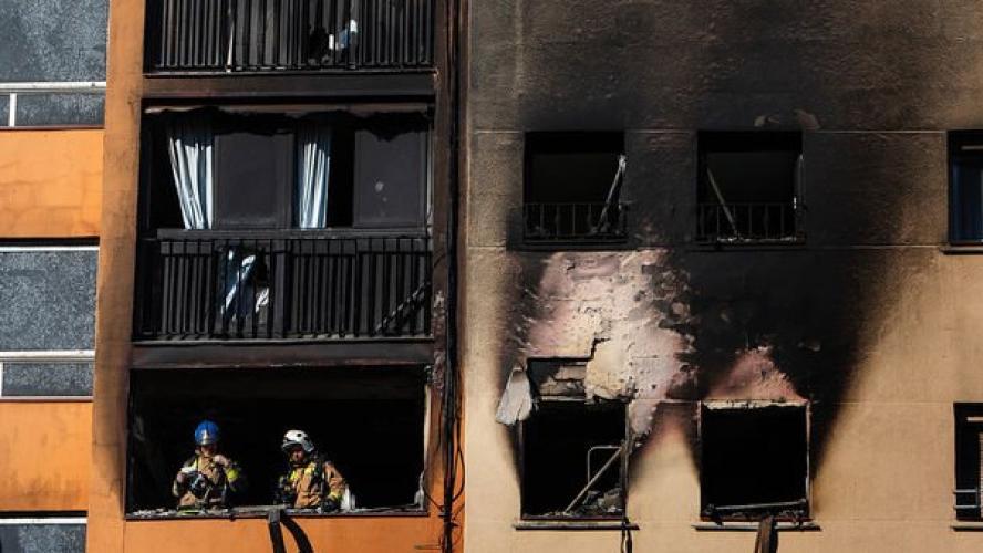 3 morts et 16 blessés dans l'incendie d'un immeuble — Catalogne