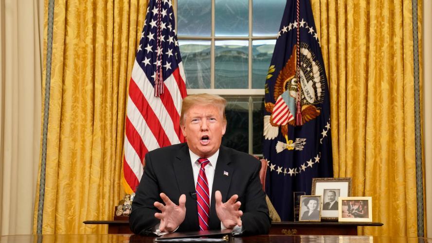 Trump s'envole pour le Texas pour vanter son mur frontalier