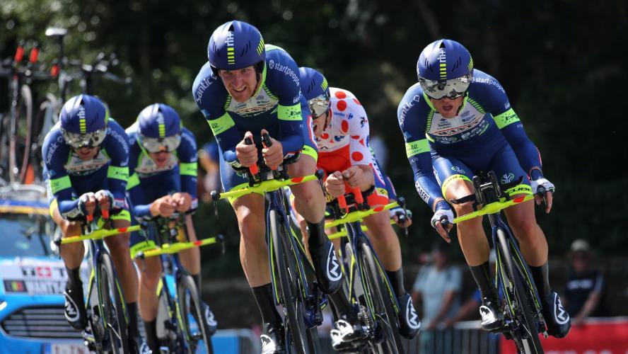 Tour de France: les deux premières invitations à Wanty et Cofidis