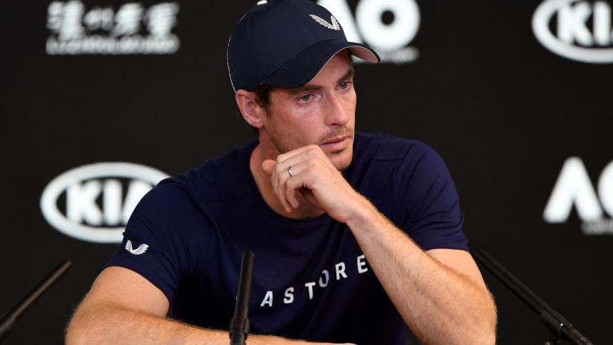 Andy Murray annonce en larmes qu'il va prendre sa retraite cette année