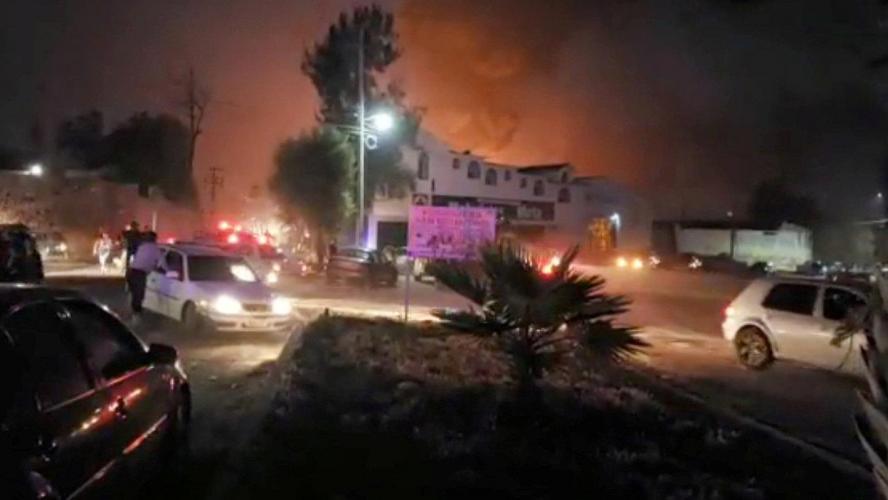 21 morts dans l'explosion d'un oléoduc — Mexique