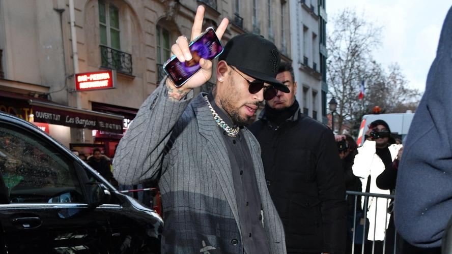 Chris Brown soupçonné de viol et placé en garde à vue — Paris