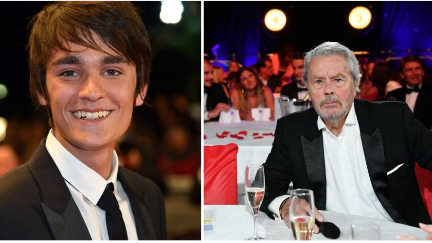 Alain-Fabien Delon hargneux : Longtemps, il a espéré que son père