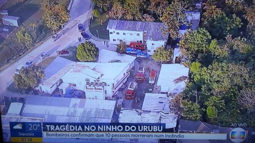 Incendie au centre de formation du club brésilien Flamengo: 10 morts