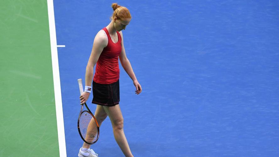 Fed Cup : Caroline Garcia emmène les Bleues en demi