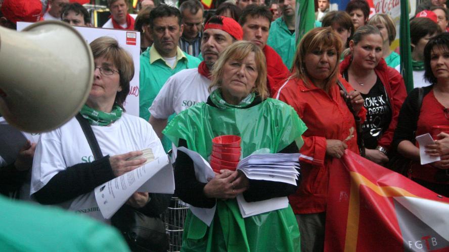 Ce mercredi, le blocage sera mené en front commun syndical et au niveau national.