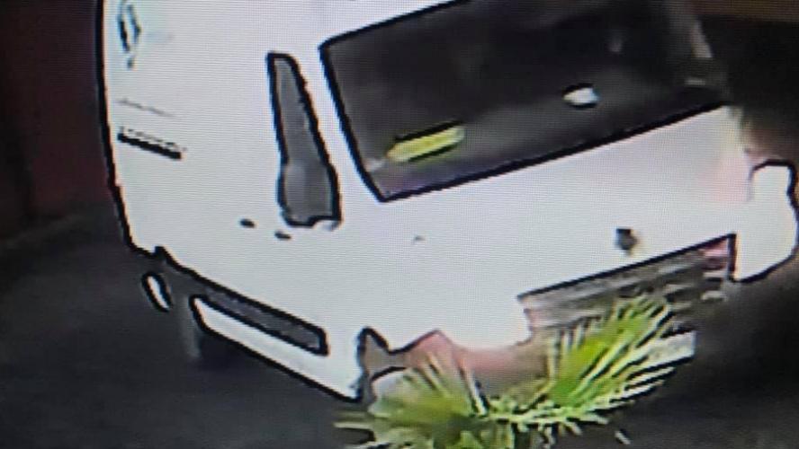 Le véhicule a été filmé