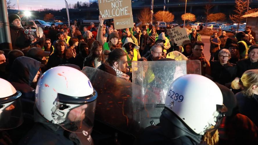 La conférence de Theo Francken à Verviers est annulée
