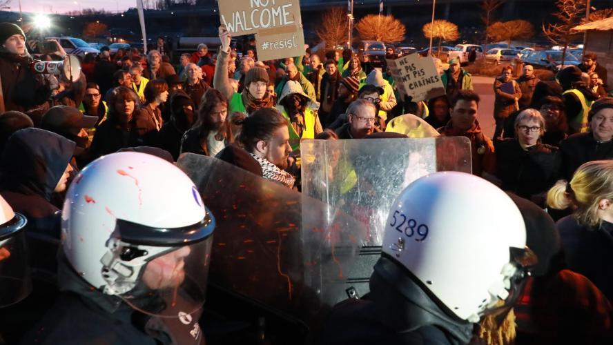Francken à l'Hôtel Verviers: la police renforce ses effectifs