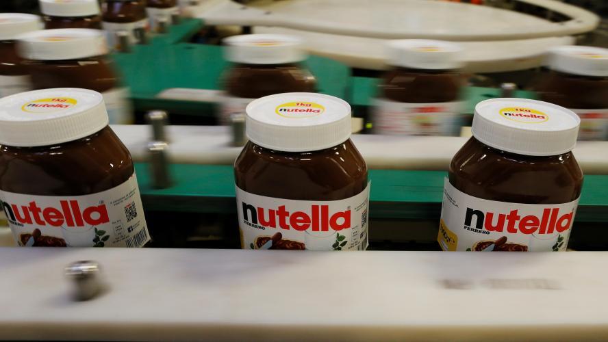 La plus grosse usine de Nutella au monde