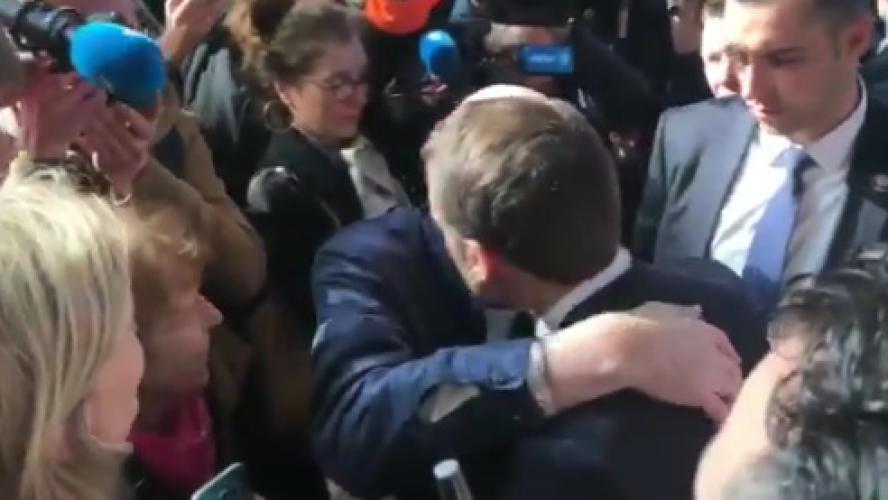 Un temps de présence record pour Emmanuel Macron — Salon de l'agriculture