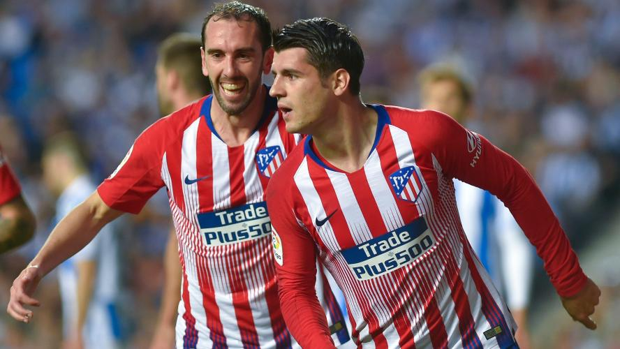 Liga : Morata offre la victoire à l'Atlético contre la Real Sociedad