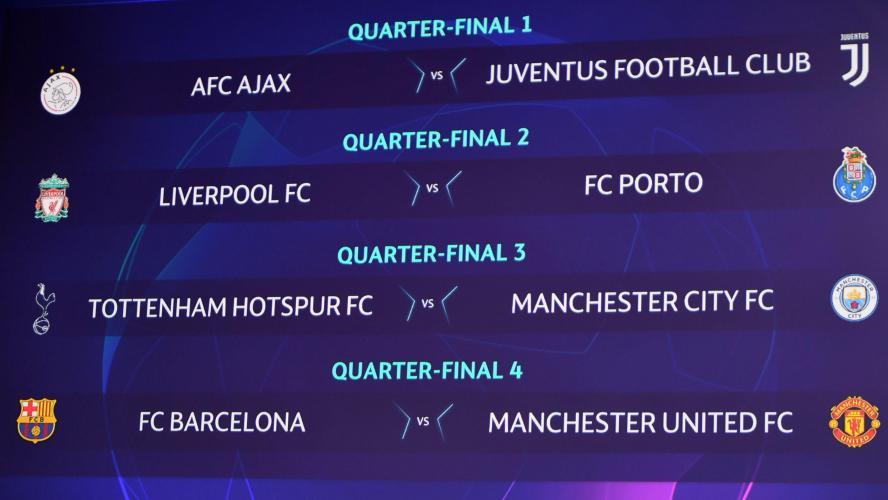 Calendrier Ligue De Champion.Ligue Des Champions Barcelone Affrontera Manchester United
