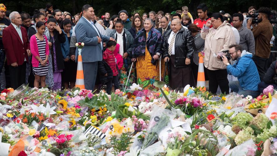 Attentat Nouvelle Zélande Wikipedia: La Nouvelle-Zélande Rend Hommage Aux 50 Victimes De L
