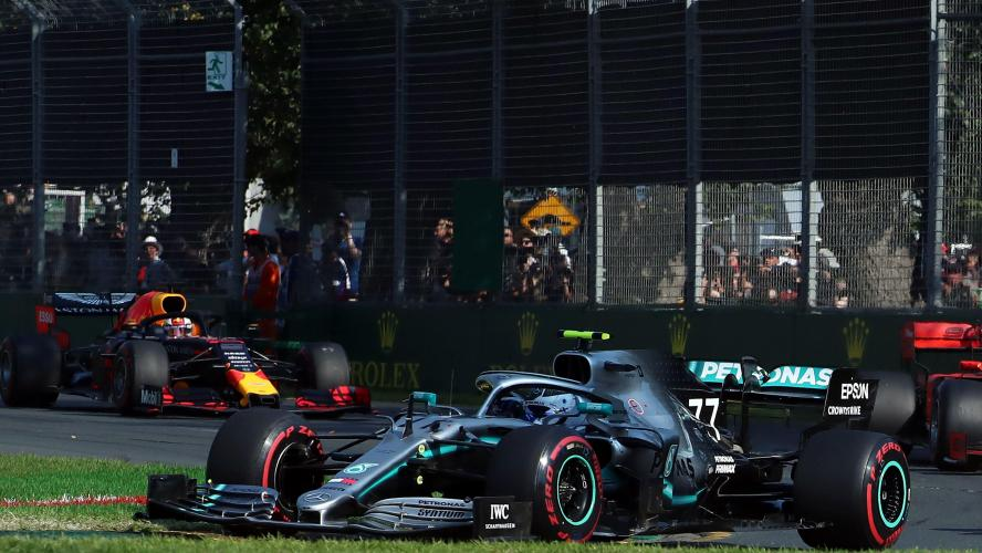 Victoire de Bottas (Mercedes) devant Hamilton et Verstappen (Red Bull) — GP d'Australie