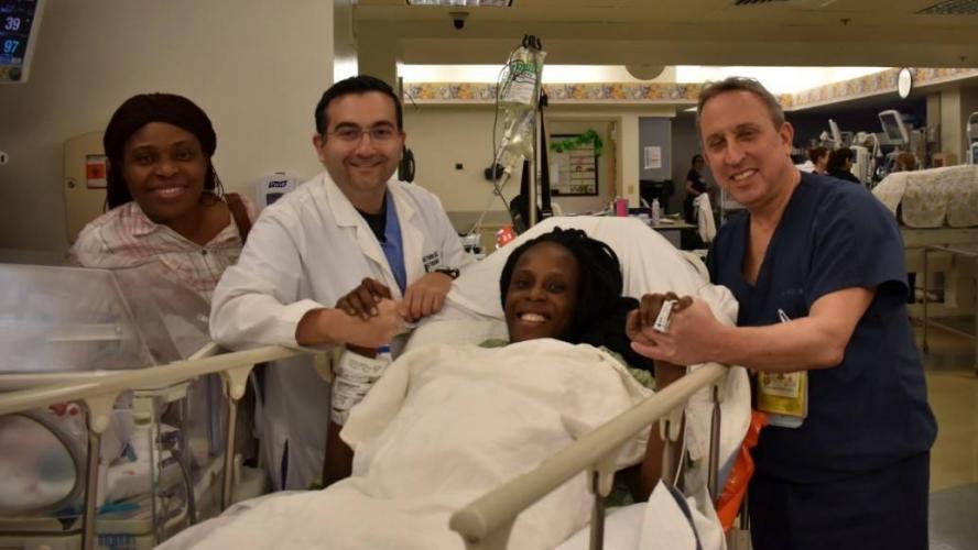 Maternité : Elle accouche de six bébés en 9 minutes