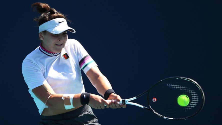 Bianca Andreescu abandonne au quatrième tour — Miami