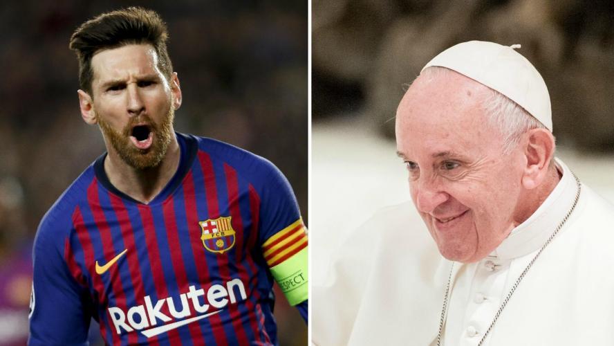 Barça : Messi est-il un Dieu ? Le Pape répond !