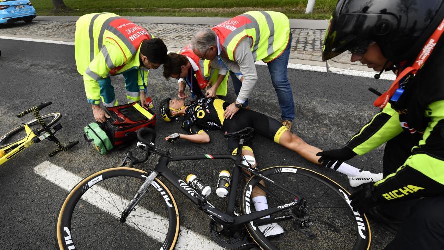 Terpstra chute et renonce à Paris-Roubaix — Tour des Flandres