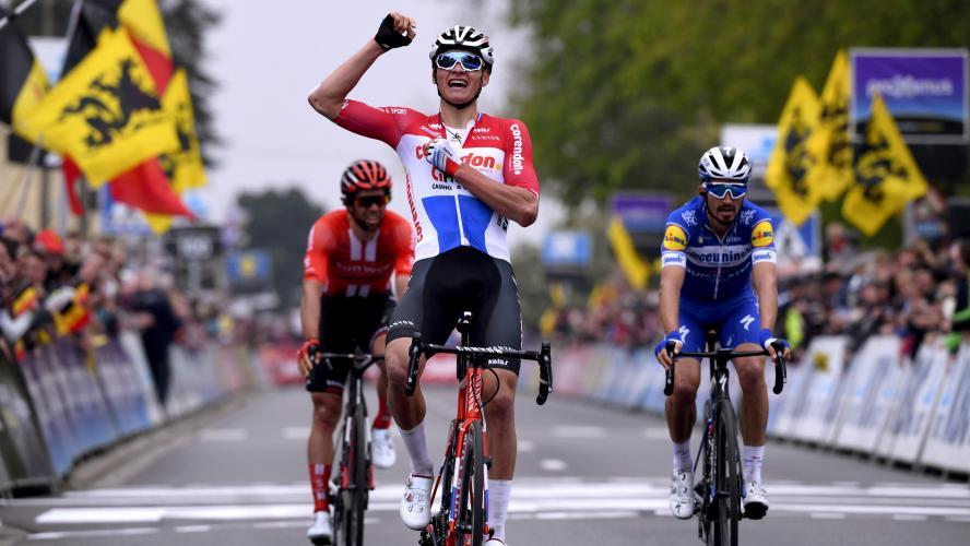 Mathieu van der Poel gagne la Flèche Brabançonne