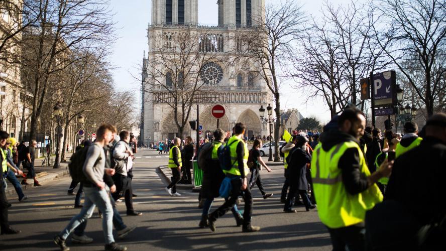 Acte 23 des Gilets jaunes : 60 000 policiers et gendarmes mobilisés