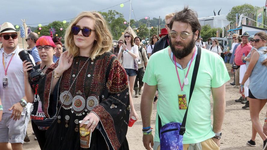 La chanteuse annonce s'être séparée de son mari Simon Konecki — Adele