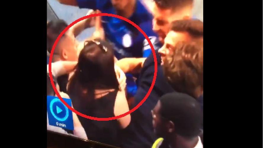 La célébration un peu particulière de Gonzalo Higuain après son but face à Burnley... (vidéo)