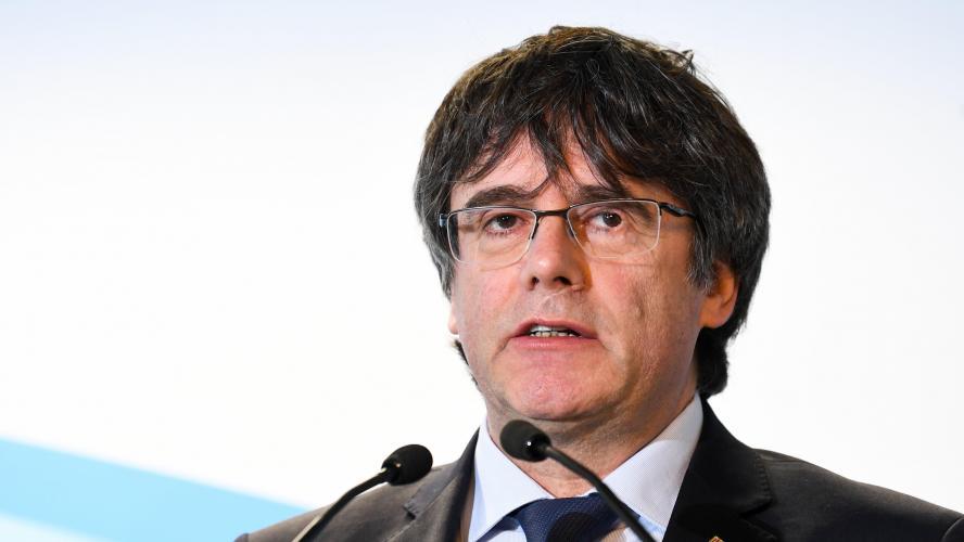 Carles Puigdemont interdit d'être candidat — Elections européennes
