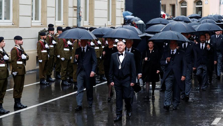 Funérailles de S.A.R. le Grand-Duc Jean (Livestream)