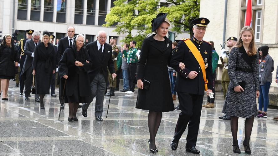 Dernier hommage au grand-duc Jean
