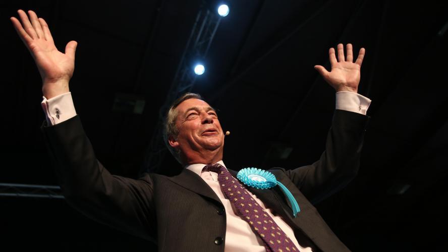 Européennes : le parti du Brexit en tête des sondages au Royaume-Uni