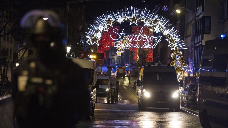Strasbourg : 5 personnes arrêtées dans l'enquête sur l'attentat du marché de Noël