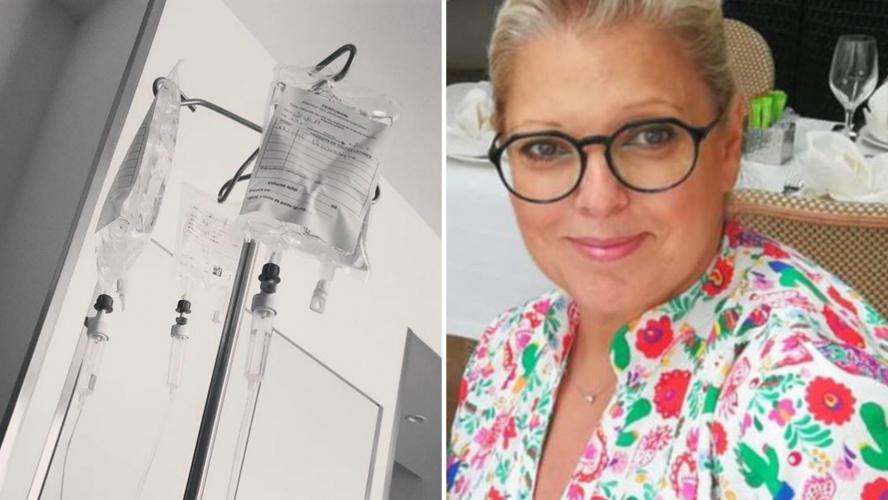 L'animatrice poste un message inquiétant — Laurence Boccolini hospitalisée