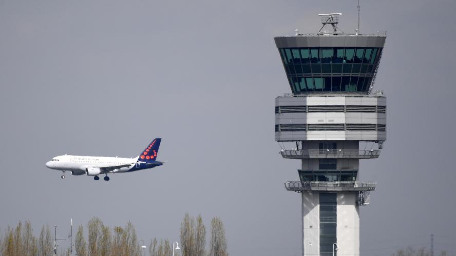 Belgique : le trafic aérien paralysé par une grève des contrôleurs