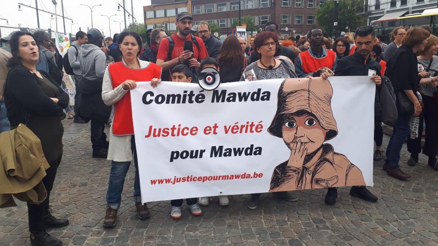 150 personnes manifestent à Mons pour Mawda