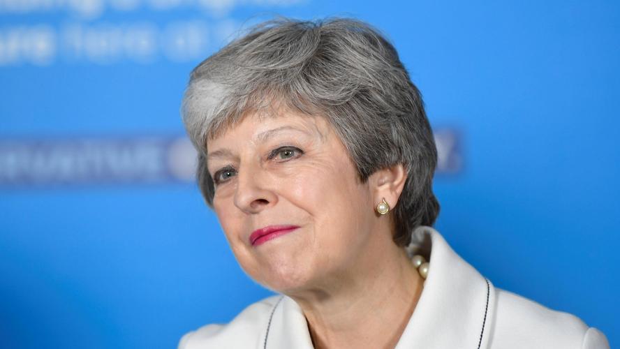 Theresa May ouvre la voie à un second référendum — Brexit