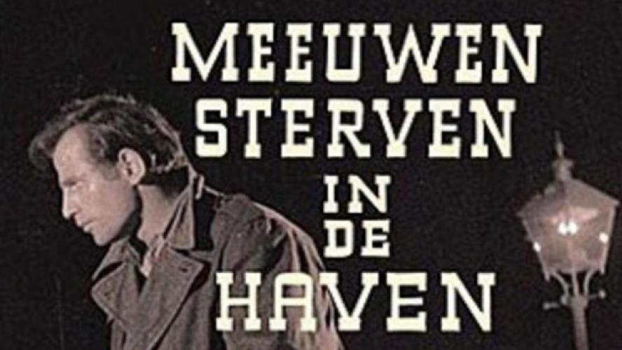 L'affiche de « Meeuwen sterven in de haven », son film le plus connu