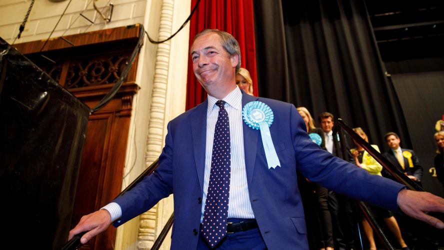 Au Royaume-Uni, le Parti du Brexit sort victorieux des élections européennes