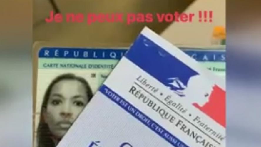 Karine Le Marchand interdite de vote: l'animatrice a filmé la scène (vidéo)