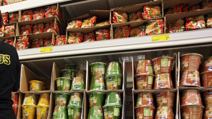 L'abus de plats industriels augmente le risque de maladie