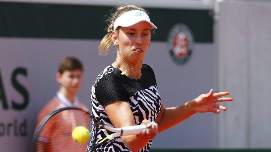 Elise Mertens perd la seconde manche face à Sevastova (direct) — Roland-Garros