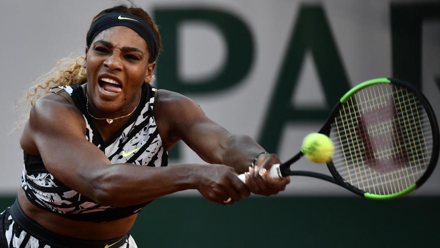 Roland-Garros: Serena Williams sans problèmes en seizièmes de finale