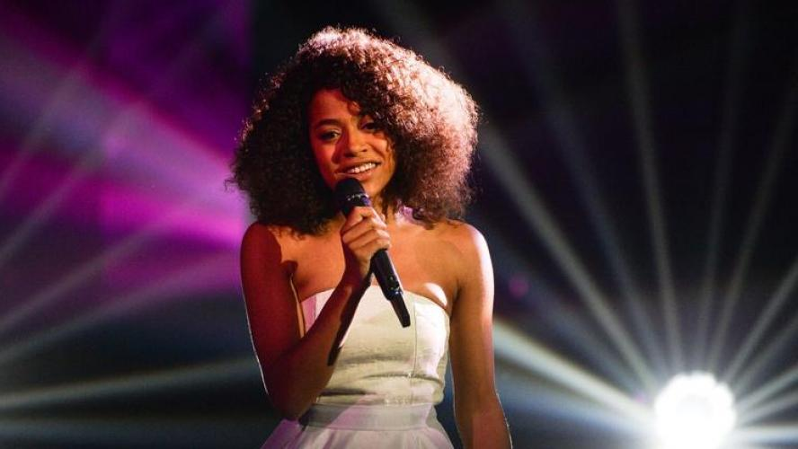 Whitney remporte la finale de The Voice France