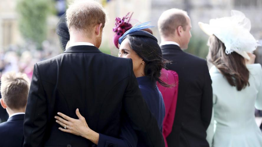 La famille royale réunie pour Trooping the Colour — Londres